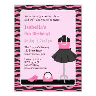Zebra Party Invitations with beautiful invitation example