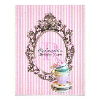fête d'anniversaire vintage de petit gâteau bristol