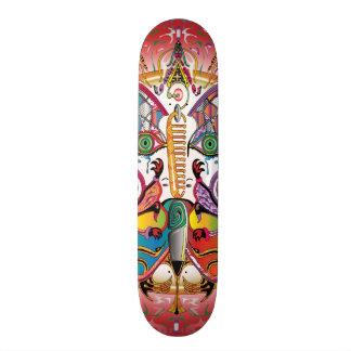 Fête de papillon skateboard