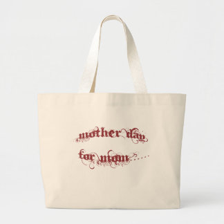 Fête des mères pour la maman sac en toile