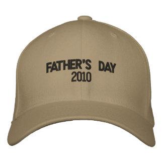 Fête des pères 2010 casquette brodée