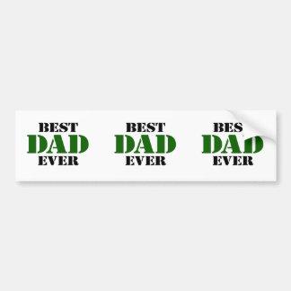 Fête des pères autocollant de voiture