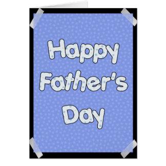 Fête des pères heureuse cartes