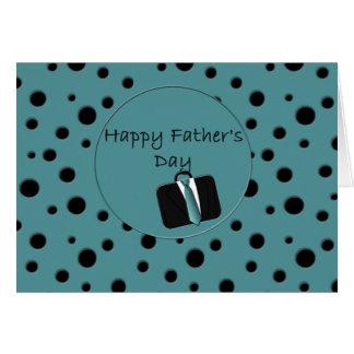 Fête des pères heureuse cartes de vœux