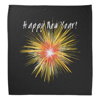 Feu d'artifice de bonne année bandana