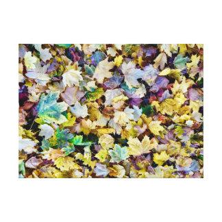 Feuillage d'automne toiles