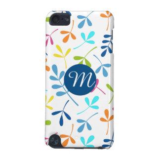 Feuille assorti multicolore Ptn (personnalisé) Coque iPod Touch 5G