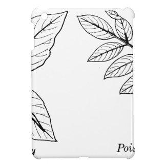 Feuille botanique vintage coque iPad mini