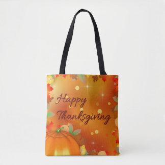 Feuille d'automne coloré - sac fourre-tout à