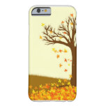 Feuille d'automne coque iPhone 6 barely there