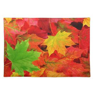 Feuille d'automne sets de table
