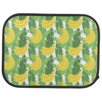 Feuille de banane et motif de fruit tapis de sol