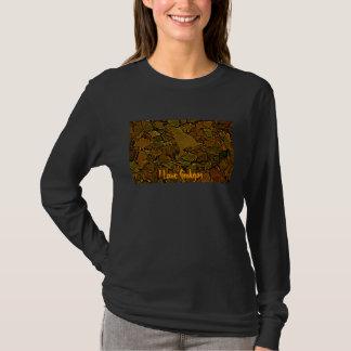 Feuille de Ginkgo, j'aime des Ginkgos T-shirt