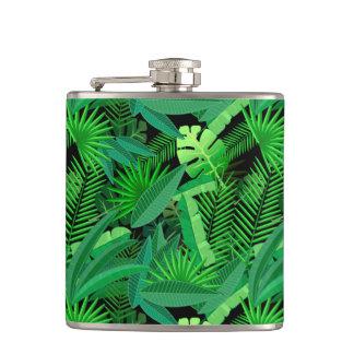 Feuille de palmiers tropicaux flasques