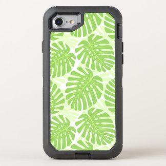 Feuille de plante tropicale - motif de Monstera Coque OtterBox Defender iPhone 8/7