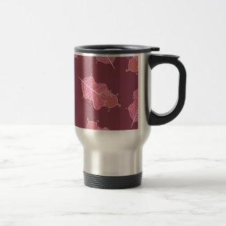 feuille de prune mug de voyage