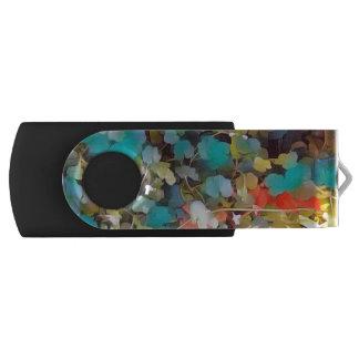 Feuille de région boisée clé USB 3.0 swivel