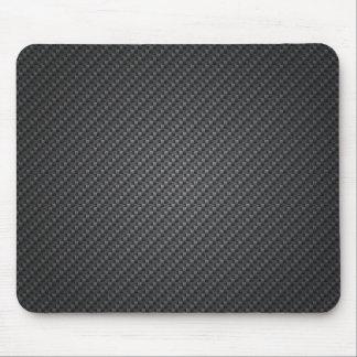 Feuille de texture de fibre de carbone tapis de souris