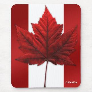 Feuille d'érable de Mousepad Canada de drapeau du Tapis De Souris