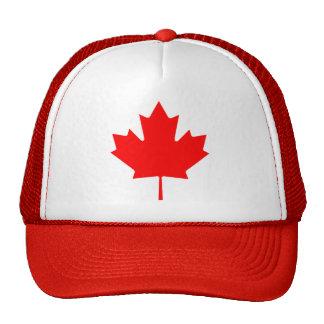 Feuille d'érable du Canada Casquettes