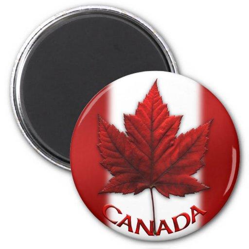 Feuille d'érable du Canada d'aimant de