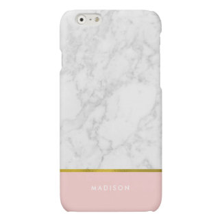 Feuille d'or de marbre rose de motif et de Faux