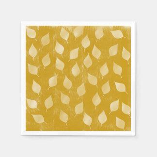Feuille d'or serviettes jetables