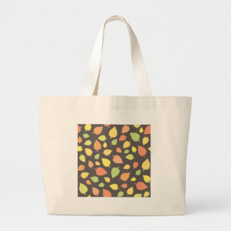 Feuille moderne d'automne grand sac