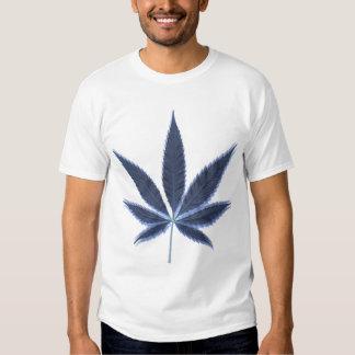 Feuille psychédélique de pot t-shirts