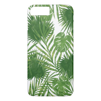 Feuille tropical coque iPhone 8 plus/7 plus