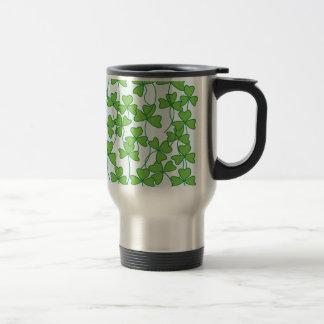 feuille verte mug de voyage