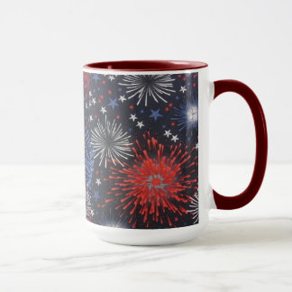 Feux d'artifice mugs