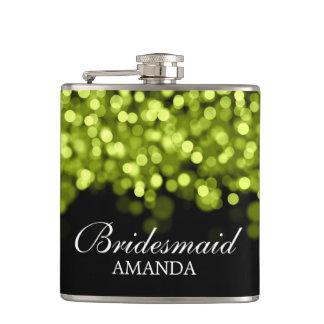 Feux verts de faveur de mariage flasques