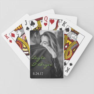 Fiançailles ou épouser de carte de jeu des faveurs jeux de cartes