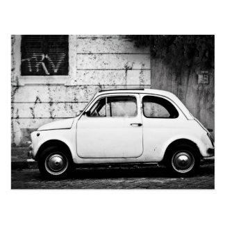 Fiat 500 à Rome Italie Cartes Postales