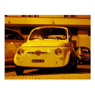 Fiat 500 Abarth. Carte Postale