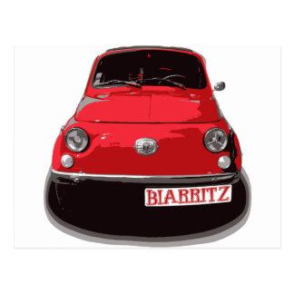 Fiat 500 Biarritz Cartes Postales