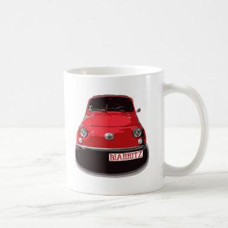 Fiat 500 Biarritz Mug Blanc