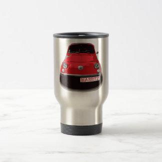Fiat 500 Biarritz Mug De Voyage En Acier Inoxydable