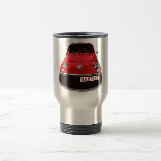 Fiat 500 Biarritz Tasse