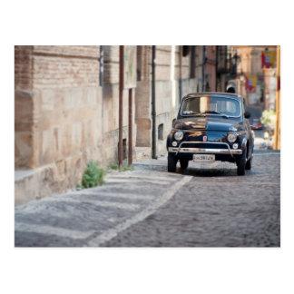 Fiat 500 Cinquecento dans Lanciano Italie Cartes Postales
