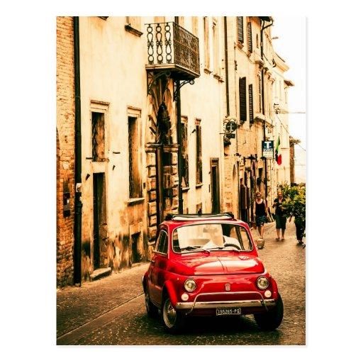 Fiat 500, Cinquecento en Italie Cartes Postales