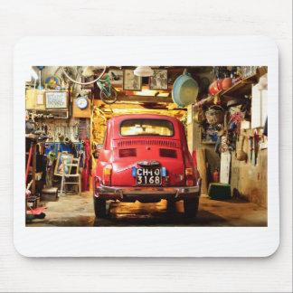 Fiat 500 en Italie Tapis De Souris