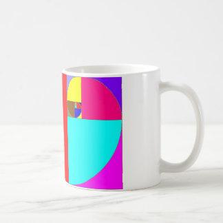 Fibonacci espiral mug
