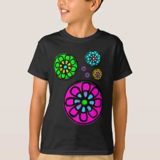Fibonacci flower power t-shirt