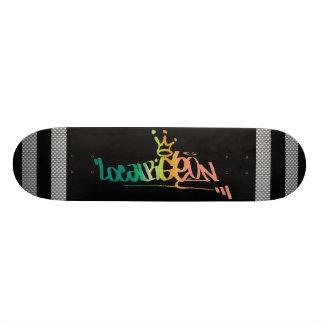 Fibre de carbone skateboard
