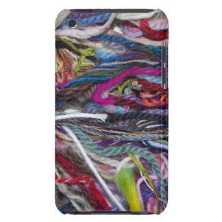 Fibres colorées de laine coque barely there iPod