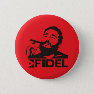 Fidel Castro Badge
