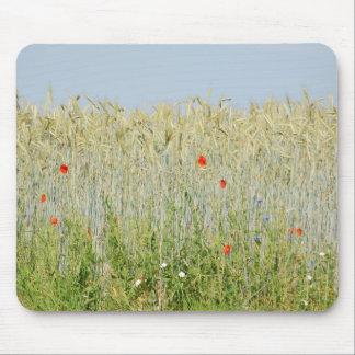 Field of a edge corn field tapis de souris