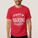 Fier de ma fille MARINE T-shirts